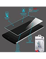 LG V10 Tempered Glass Screen Protector,IDEA LINE INC(TM)FOR LG V10 tempered glass Screen Protector Clear.