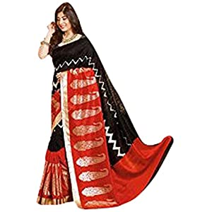 Incredible Bhagalpuri Kanchipuram Designer Art Silk Saree Sari