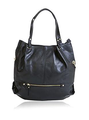Pia Sassi Schultertasche Shopping schwarz one size