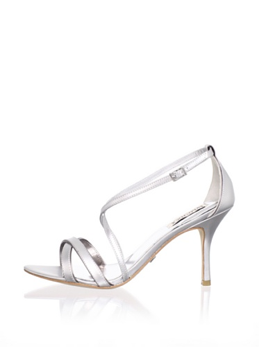 Badgley Mischka Women's Walda Sandal (Silver/Pewter)