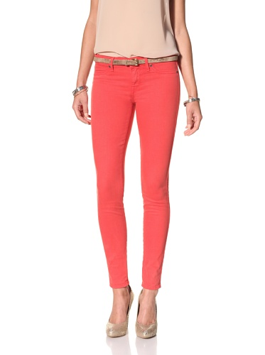Rich & Skinny Women's Skinny Jean (Tomato)