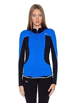 Naffta Chaqueta Sport (Azul Francia / Negro)