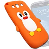 RUBBERIZED SOFT Back Case Cover POUCH For Samsung Galaxy S3 SIII I9300 -BS25