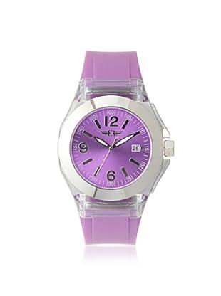 I by Invicta Women's IBI-10068-004 Silver-Tone Dial Purple Polyurethane Watch