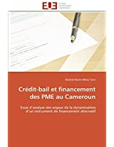 Credit-Bail Et Financement Des Pme Au Cameroun