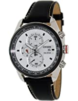 Citizen Eco-Drive Analog White Dial Men's Watch CA0361-04A