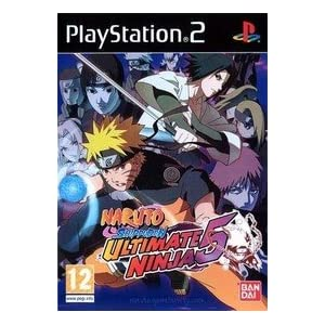 Naruto Shippuden: Ultimate Ninja 5 PS2 Game