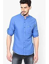Blue Casual Shirts John Players