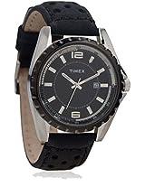 H900 Black/White Analog Watch