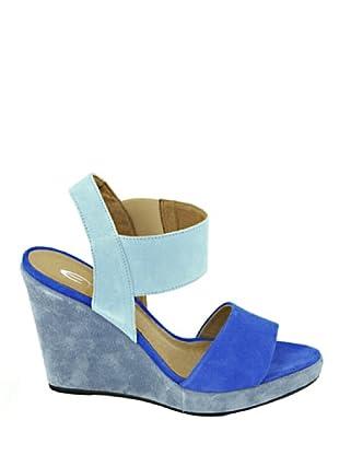 Eye Shoes Sandalias Bicolor (Azul / Celeste)