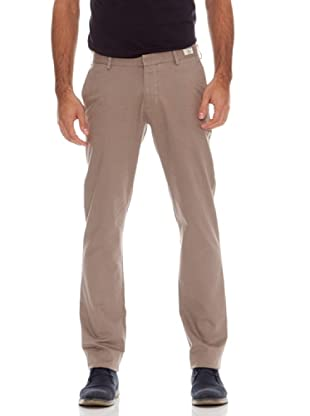 Tommy Hilfiger Pantalón Bleecker Chino It Pied De Poule (Marrón)