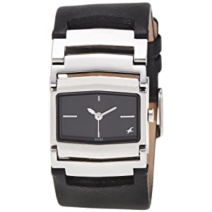 Fastrack Fastrack His and Her Analog Black Dial Women's Watch - NE6062SL02