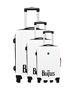 The Beatles by Platinium 3er Set Hartschalen Trolley White
