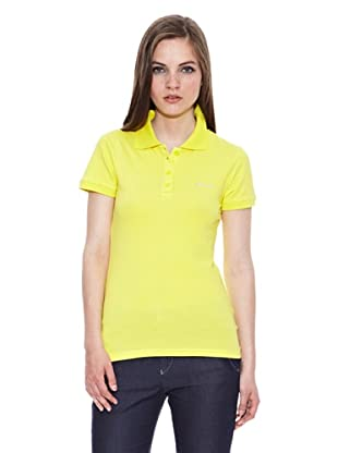 Carrera Jeans Polo M/C Piquet Stretch (Amarillo)