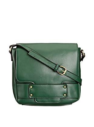 Louche Bags Bolso Bags Womens Dusty Cross-Body Bag (Verde)
