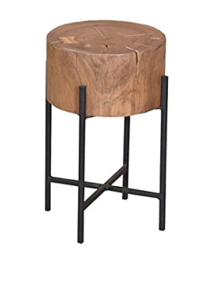 Tottenham Court Ashton Round Sidetable/Stool, Natural