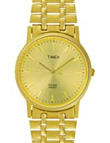 Timex Classics Analog Gold Dial Men's Watch - A304