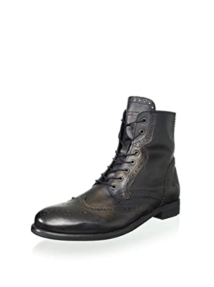 Ben Sherman Men's Alan Brogue Boot (Black)