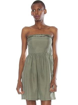 Fornarina Vestido Ive (verde caza)