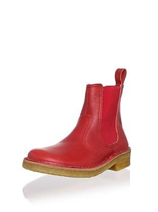 Swedish Hasbeens Women's Chelsea Boot (Red)
