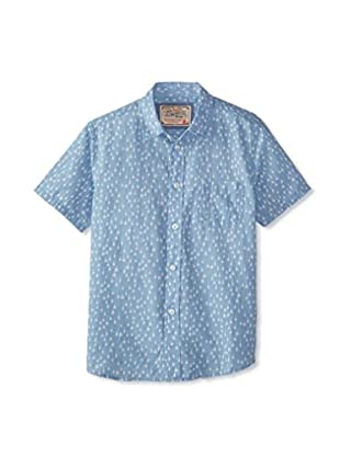 Lil Jachs Boy's Short Sleeve Button-Up