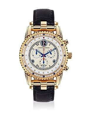 Chrono Diamond Uhr mit schweizer Quarzuhrwerk 11300 Adone  45 mm