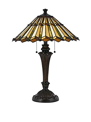 Bristol Park Lighting Latonya 2-Light Table Lamp, Dark Bronze