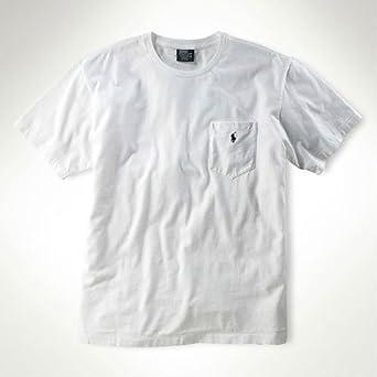 ポロラルフローレン 正規品 メンズ半袖Tシャツ ホワイト XS 並行輸入品