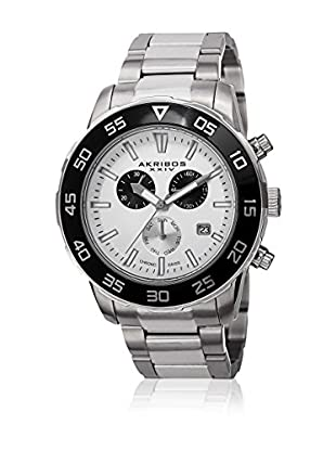 Akribos XXIV Reloj con movimiento cuarzo suizo Man AK669SSW 45 mm