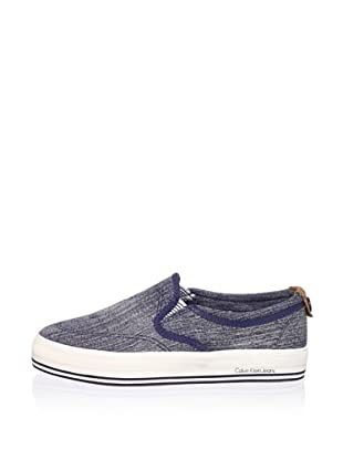 Calvin Klein Jeans Women's Gaia Fashion Sneaker (Blue)