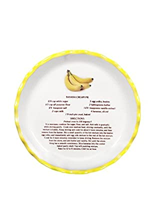 Aunt Beth's Cookie Keepers Banana Cream Pie Plate