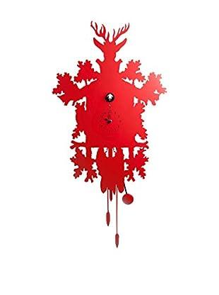 Diamantini & Domeniconi Reloj de Cuco Rojo