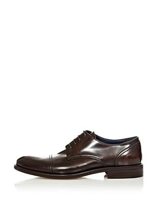Farrutx zapato clásico cordones (Marrón Oscuro)