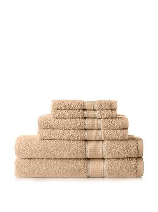 Espalma Ambassador 6-Piece Towel Set, Wheat