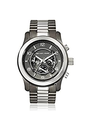 Michael Kors Men's MK8182 Black and White Stainless Steel Watch