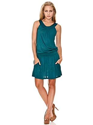 Springfield Vestido Casual (Verde)