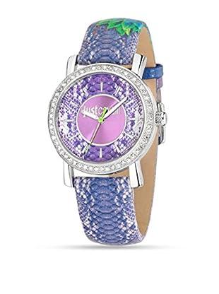 Just Cavalli Reloj de cuarzo Paradise Violeta 38 mm