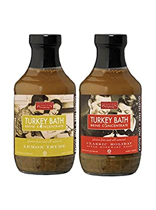 Sweetwater Spice Company Classic Holiday & Lemon Thyme Turkey Bath 2-Pack