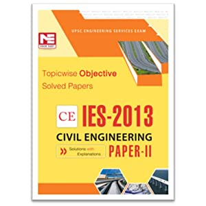 IES - 2013: CE Objective Solved Paper II