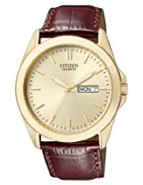Citizen Analog Beige Dial Men's Watch BF0582-01P