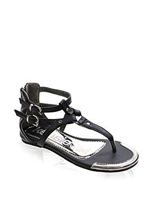 Kensie Girl Kid's T Strap Sandal with Buckles