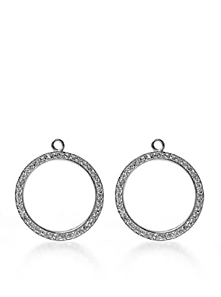 Luxenter Pc01000 - Pendientes Combinables Earringbar De Plata