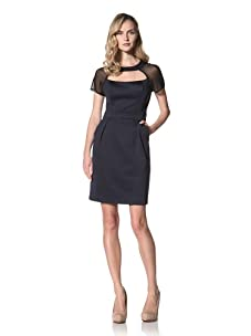Jonathan Simkhai Women's Cut Out Dress (Navy)