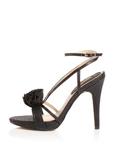 MaxStudio Women's Erbay Platform Sandal (Black)