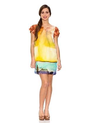 Jota + Ge Vestido Vivaz (Multicolor)