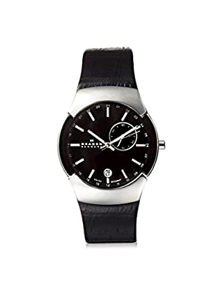 Skagen Men's 983XLSLB Black Label Stainless Steel Watch