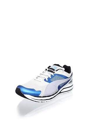 Puma Men's Faas 800 S Running Shoe (Vivid Blue/White/Black)