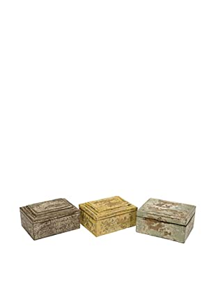 Set of 3 Kanan Wood Boxes