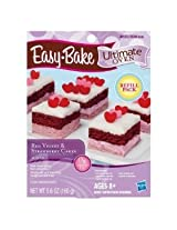 Easy Bake Ultimate Oven Red Velvet & Strawberry Cakes Refill Playset
