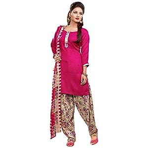 Multicolor Pashmina Salwar kameez